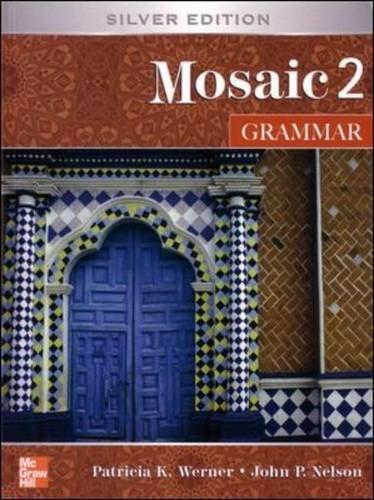 Mosaic 2: Grammar hewings martin thaine craig cambridge academic english advanced students book