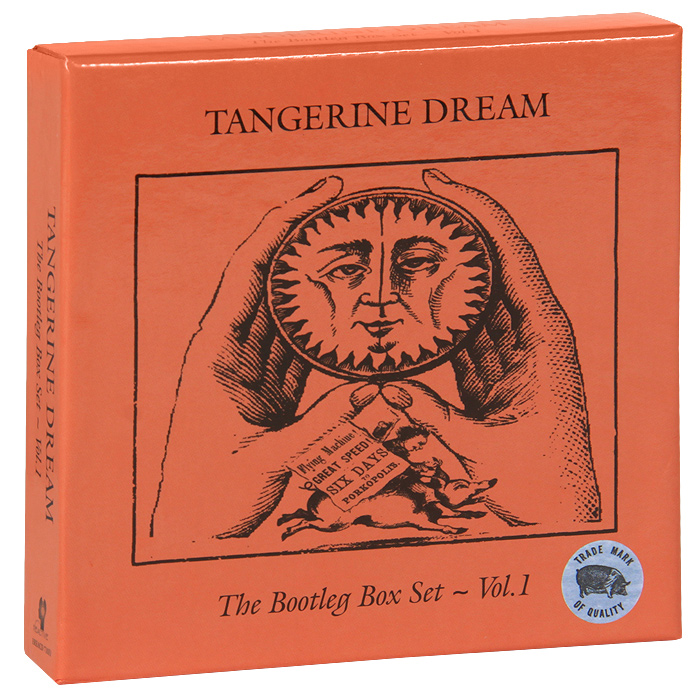 Tangerine Dream. The Bootleg Box Set. Vol.1 (7 CD)