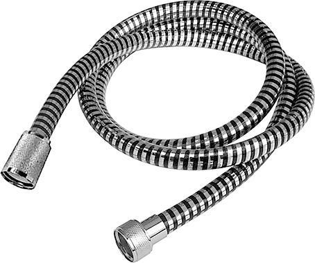 Шланг для душевой лейки Duschy Silverflex, 1,5 м217-92Функциональный пластиковый шланг для душевой лейки Duschy Silverflex длиной 1,5 м в комплекте с конусной гайкой. Характеристики: Материал: пластик пвх, латунь. Цвет: хром, серый. Размер (ДхШхВ): 150 см х 2 см х 2 см. Размер упаковки (ДхШхВ): 32 см х 22 см х 4 см.