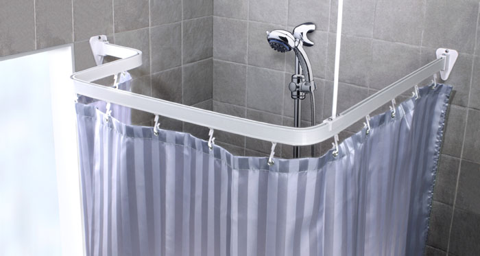 Карниз гибкий для ванной