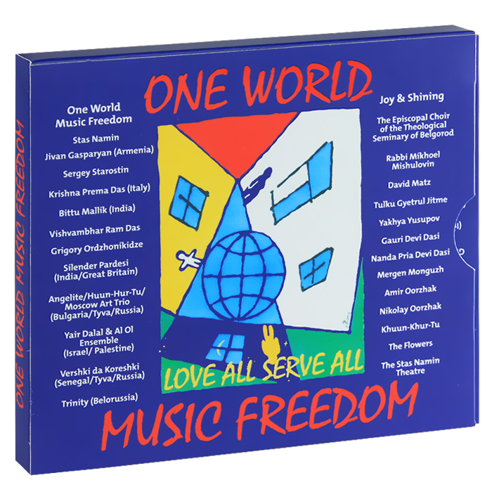 One World Music Freedom (2 CD)