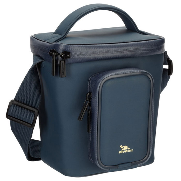 RIVACASE 1800 (LRPU) Antishock Digital Case, Dark Blue сумка для фотокамеры
