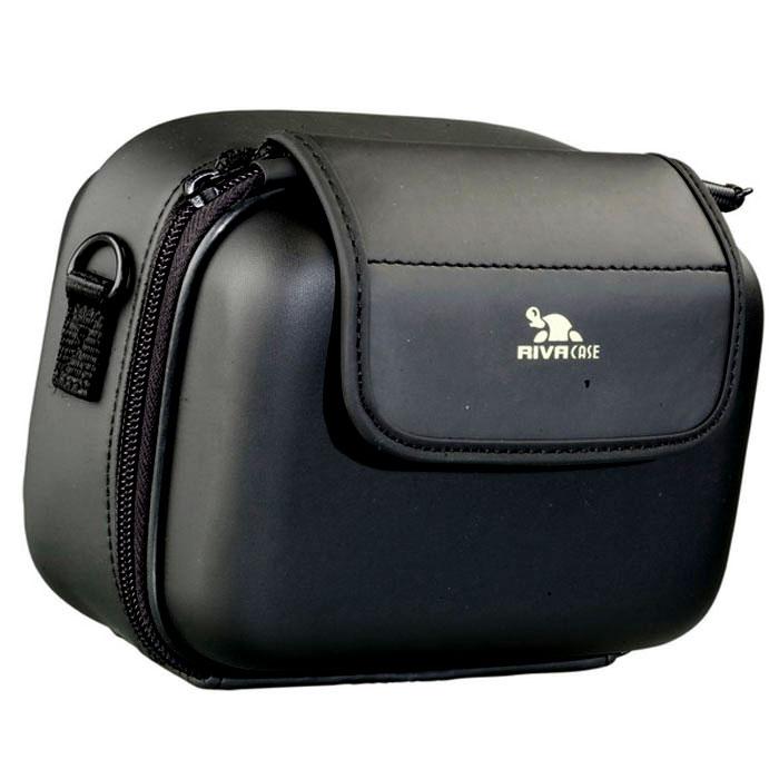купить RIVACASE 7050 (PU) Video Case, Black чехол для фотокамеры недорого