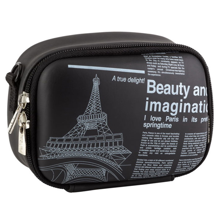 все цены на Riva 7081 (PU) Digital Case, Black (Newspaper) чехол для фотокамеры онлайн