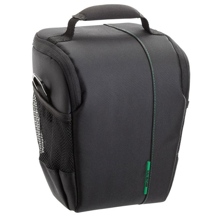 RIVACASE 7440 SLR Case, Black чехол для фотокамеры6468Высококачественная сумка Riva 7440 SLR Case для зеркальной фотокамеры SLR с установленным объективом. Дополнительно возможно разместить 1 объектив и вспышку с помощью внутренних передвижных перегородок. Верхний откидной клапан закрывается на застежку молния и обеспечивает быстрый доступ к фотокамере. Для переноски предусмотрены регулируемый наплечный ремень с мягкой накладкой и удобная ручка.Стильная зеленая внутренняя подкладкаДва внешних боковых кармана для аксессуаровДва внутренних кармана для карт памяти и аксессуаровПредусмотрена возможность крепления на поясном ремне