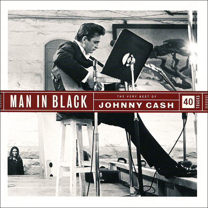 Джонни Кэш Johnny Cash. Man In Black. The Very Best Of Johnny Cash (2 CD) cd johnny cash out among the stars