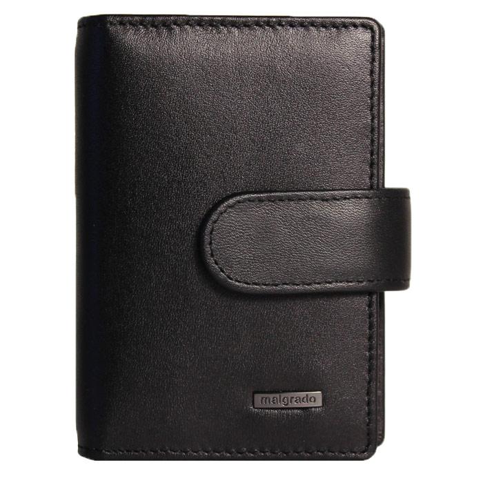 Визитница Malgrado, цвет: черный. 42003-3-55D ключницы malgrado 50501 13801d red page 3