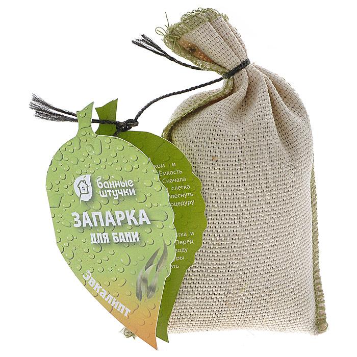 Запарка для бани Эвкалипт, в мешочке, 30 г32164Запарка для бани Эвкалипт поможет усилить оздоровительный эффект бани. Настой из листьев эвкалипта используется как антисептическое средство, им обрызгивают деревянные стены и раскалeнные камни. Возникающий при этом ароматный пар обладает отличными ингаляционными свойствами. При этом дышать надо через нос, и тогда гортань, трахея, бронхи прогреваются целебным паром эвкалипта. Применяя эвкалипт в бане, вы также ощутите прилив бодрости и энергии. Для повышения эффективности банных процедур очень полезно применение настоев и отваров. Баня - это не только очищение тела, но и отдых для души, укрепление духа. Отдых в сауне или бане - это полезный и в последнее время популярный способ времяпровождения, запарка обеспечит вам комфорт и удобство. Характеристики:Состав: листья эвкалипта, текстиль. Вес: 30 г. Размер мешочка: 7 см х 11 см х 2 см. Артикул: 32164.