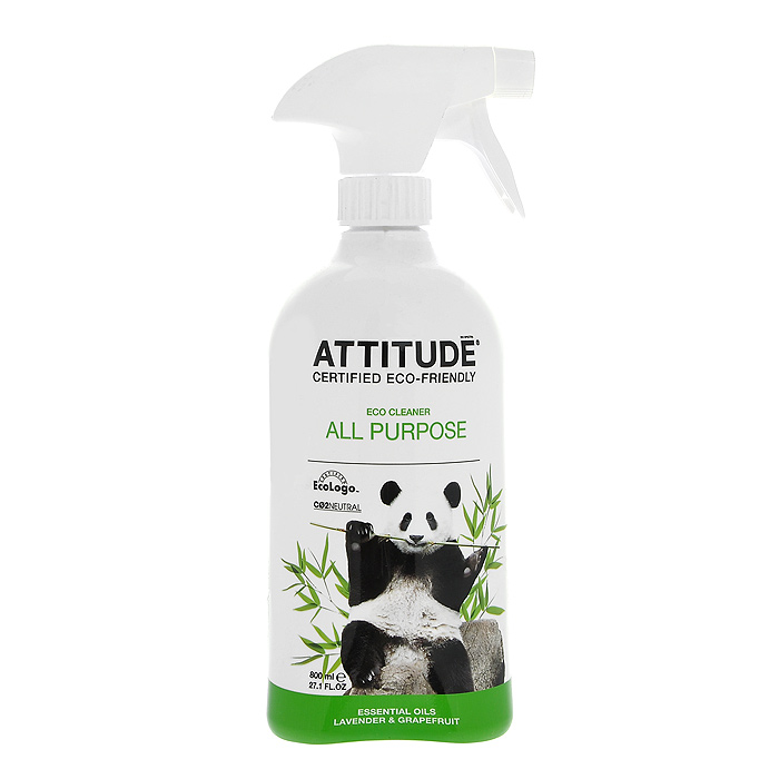 Универсальный очиститель поверхностей Attitude, 800 мл10180Универсальный очиститель поверхностей Attitude является экологически чистым средством со 100% природными ингредиентами. Средство не содержит фосфатов, производных хлора, сульфатов, нефтепродуктов и красителей. Является биоразлагаемым. Не загрязняет водоемы. Характеристики: Объем: 800 мл. Товар сертифицирован.