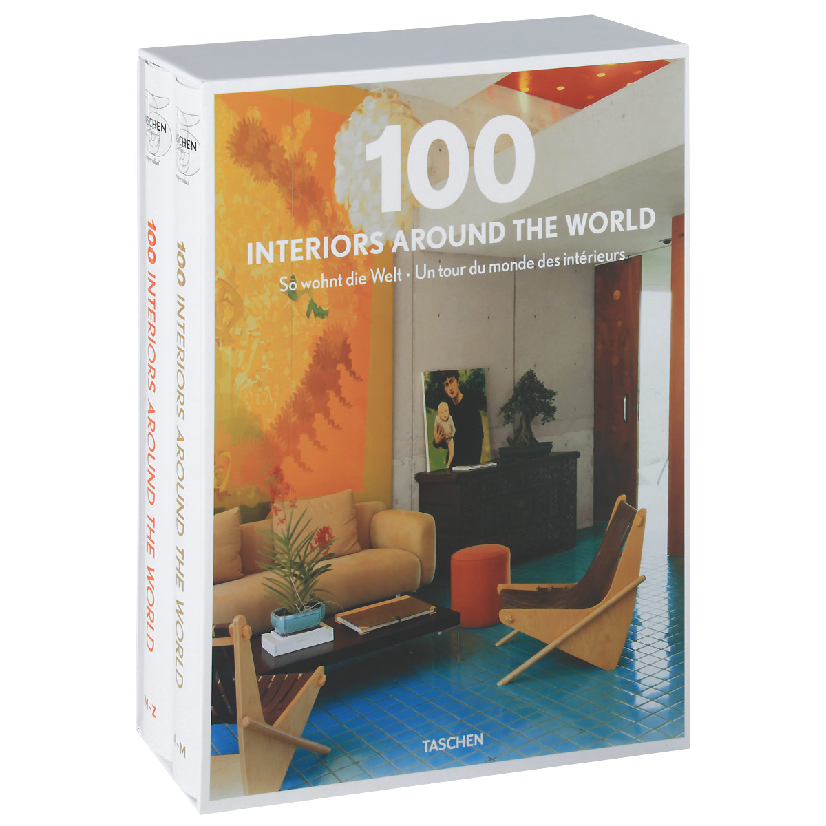 100 Interiors Around the World / So wohnt die Welt / Un tour du monde des interieurs (комплект из 2 книг) игрушки животные tour the world schleich