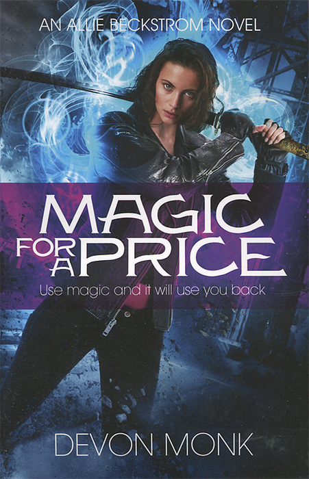 Magic for a Price the ice beneath her
