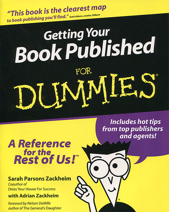 Getting Your Book Published For Dummies write your own book