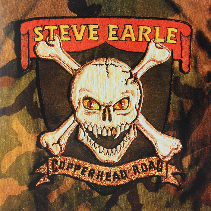 Стив Эрль Steve Earle. Copperhead Road (LP)