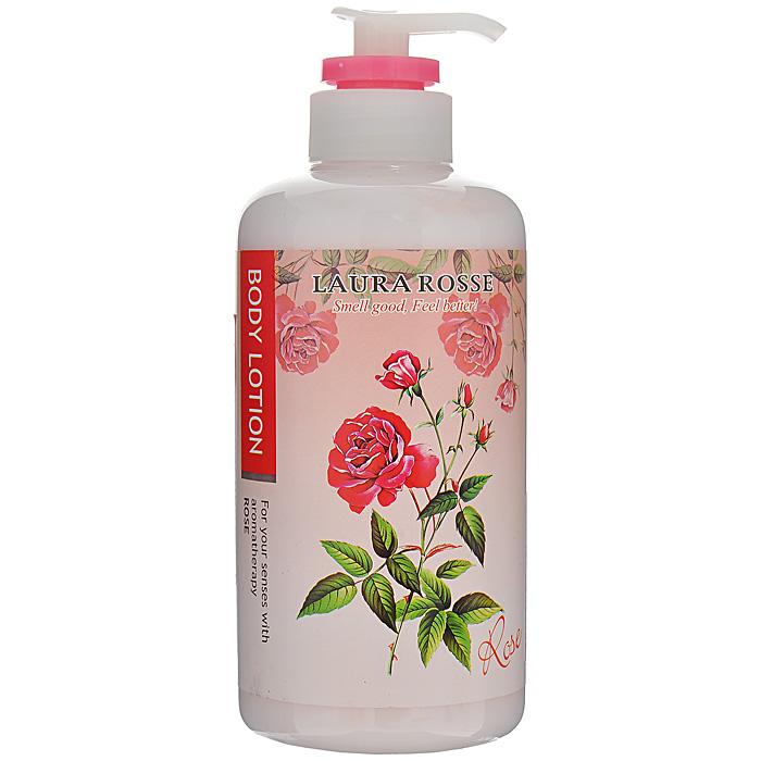 Laura Rosse Лосьон-молочко для тела Ароматерапия. Роза, 500 мл laura rosse жидкое мыло для тела ароматерапия лаванда 500 мл