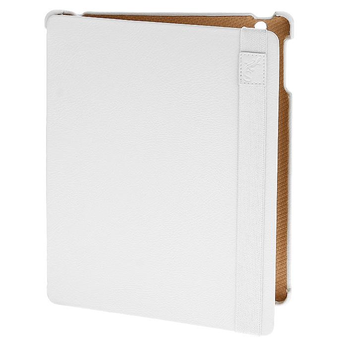 G-case Business чехол для iPad, WhiteGG-21Чехол G-case Business для iPad 4/iPad New (iPad 3)/iPad выполнен из высококачественных материалов и служит для защиты планшетного компьютера от неблагоприятных внешних воздействий включая удары, царапины и т.д. Чехлы в точности повторяют форму iPad при этом имеют свободный доступ ко всем разъемам и портам. Чехлы G-case Business имеют встроенные в крышку магниты, вводящие в режим сна и пробуждающие их при открытии / закрытии обложки. Также чехол трансформируется в горизонтальную или вертикальную подставку, имеющую различные углы наклона.