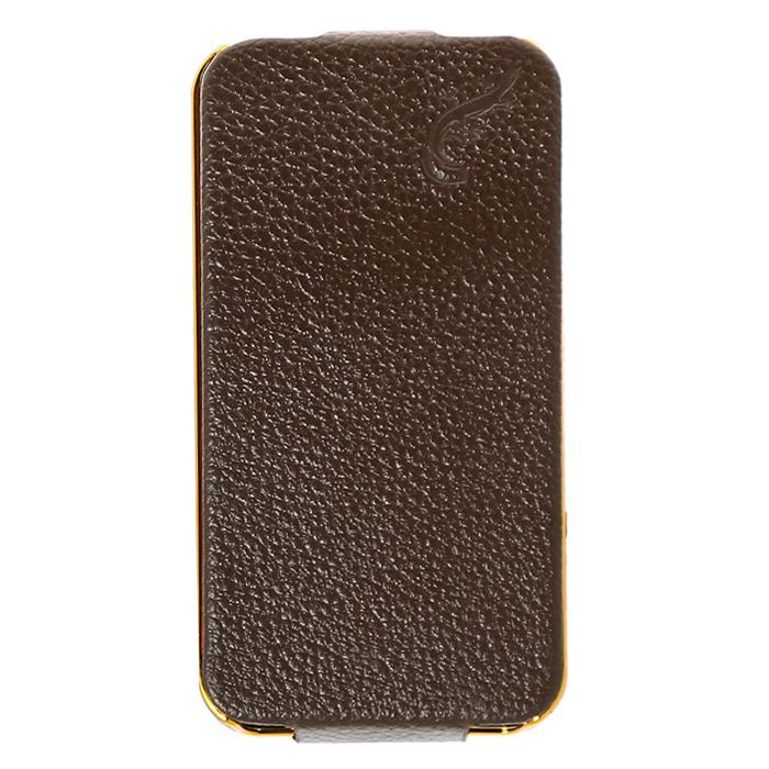 G-case Cover чехол для iPhone 4/4s, Brown protective silk style pu leather case for iphone 4 4s white