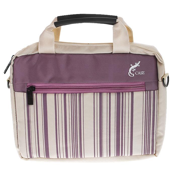 G-case GG-05 cумка для ноутбука 10-11,6, PinkGG-05Сумка для ноутбука G-case с вертикальной загрузкой и с ручкой для переноски на плече. Стенки сумки выполнены из пенообразного материала, благодаря чему Ваш ноутбук защищён от пыли, царапин и ударов.