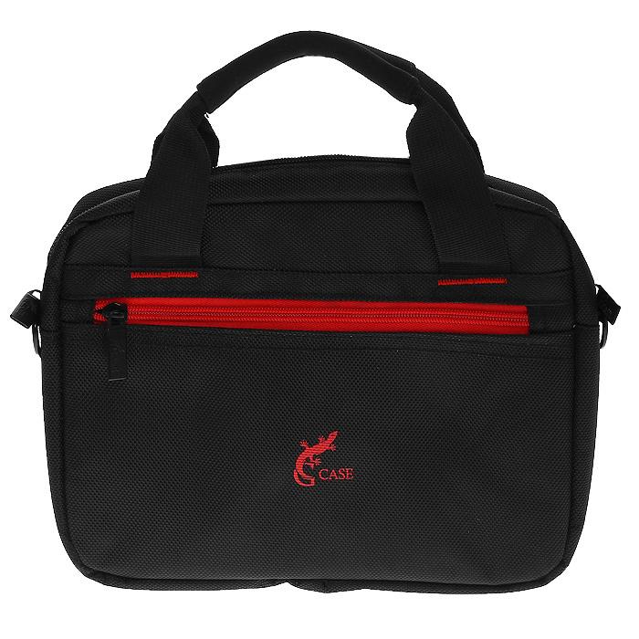 G-case GG-14 cумка для ноутбуков до 10, BlackGG-14Сумка для ноутбука G-case поможет защитить Ваш ноутбук от грязи, ударов и других повреждений, а также обеспечит безопасность транспортировки Вашего устройства. В комплекте поставляется ремень для переноски на плече.