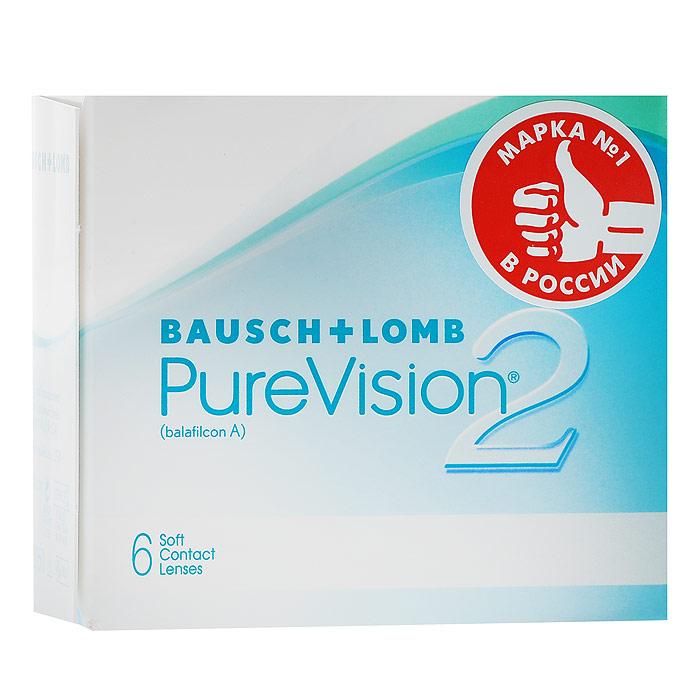 Bausch + Lomb контактные линзы Pure Vision 2 (6 шт / 8.6 / -2.75)