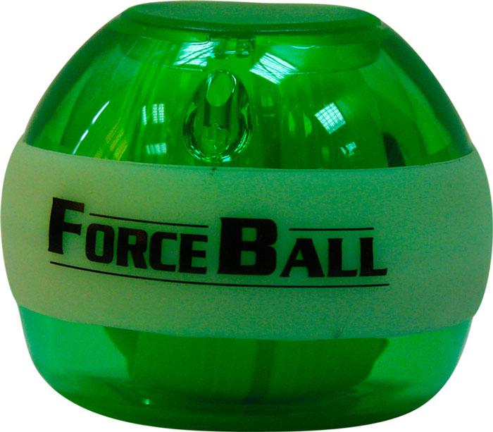 Кистевой тренажер Forceball Neon, цвет: зеленый тренажер кистевой onlitop 415812