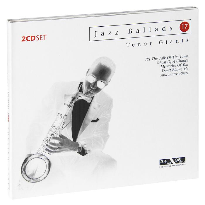 Jazz Ballads. Tenor Giants (2 CD) selmer professional tenor silver plated b saxophone mouthpiece metal tenor sax mouthpiece size 5 9 boquilha jazz music