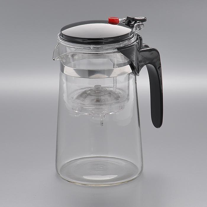 Чайник заварочный Mayer & Boch, 0,75 л. MN4024LCS958TP-EL-ALЗаварочный чайник Mayer & Boch, выполненный из стекла и пластика, предоставит вам все необходимые возможности для успешного заваривания чая.Чайник оснащен крышкой и сетчатым фильтром из нержавеющей стали, который задерживает чаинки и предотвращает их попадание в чашку. Чай в таком чайнике дольше остается горячим, а полезные и ароматические вещества полностью сохраняются в напитке. Эстетичный и функциональный чайник будет оригинально смотреться в любом интерьере. Характеристики:Материал: стекло, сталь, пластик. Объем чайника:0,75 л. Размер чайника (без ручки) (Д х Ш х В):12 см х 9 см х 16 см. Размер упаковки (Д х Ш х В):12 см х 10 см х 17 см. Производитель:Германия. Артикул:MN4024.