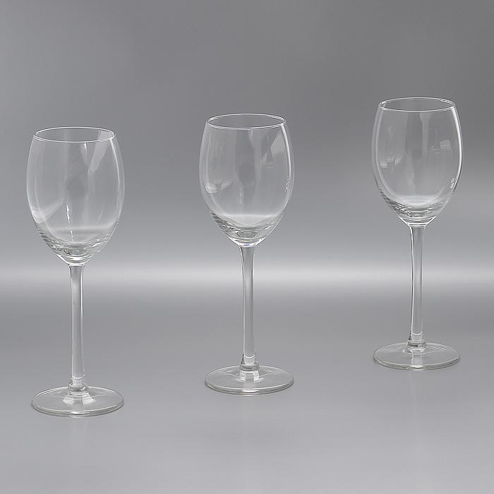 Набор бокалов Style, 250 мл, 3 штГл 678253Набор Style, выполненный из высококачественного стекла, состоит из трех бокалов на высокой ножке. Бокалы предназначены для подачи различных напитков. Набор оценят как любители классики, так и те, кто предпочитает современный дизайн.Набор бокалов Style идеально подойдет для сервировки стола и станет отличным подарком к любому празднику. Характеристики:Материал: стекло. Комплектация: 3 шт. Объем: 250 мл. Диаметр бокала по верхнему краю:5,8 см. Высота бокала:20,5 см. Диаметр основания:6,8 см. Артикул:Гл 678253.