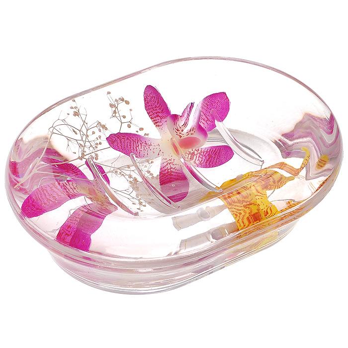 Мыльница Орхидея337-04Оригинальная мыльница Орхидея, изготовленная из прозрачного пластика, отлично подойдет для вашей ванной комнаты. Внутри мыльницы гелиевый наполнитель с фиолетовыми и желтыми орхидеями.Такая мыльница создаст особую атмосферу уюта и максимального комфорта в ванной Характеристики: Материал: пластик, акрил, гелиевый наполнитель. Цвет: белый, фиолетовый, желтый. Размер мыльницы: 13,5 см х 10 см х 3,5 см. Производитель: Швеция. Изготовитель: Китай. Размер упаковки: 14,5 см х 10,5 см х 4 см. Артикул: 337-04.