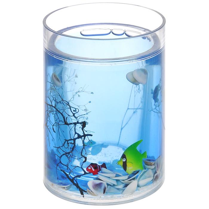 Стаканчик Морские рыбки334-01Стаканчик Морские рыбки, изготовленный из прозрачного пластика, отлично подойдет для вашей ванной комнаты. Внутри стакана голубой гелевый наполнитель с маленькими ракушками, рыбками и веточками.Стаканчик создаст особую атмосферу уюта и максимального комфорта в ванной. Характеристики: Материал: пластик, акрил, гелевый наполнитель. Цвет: голубой, белый, желтый, черный. Диаметр стаканчика по верхнему краю: 7,3 см. Высота стаканчика: 10,5 см. Производитель: Швеция. Изготовитель: Китай. Размер упаковки: 8,5 см х 8,5 см х 12,5 см. Артикул: 334-01.