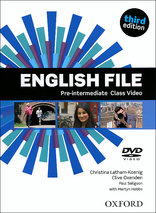English File: Pre-intermediate Class Video hancock mark english pronunciation in use intermediate 2 ed with answ audio cds 4 and cd rom