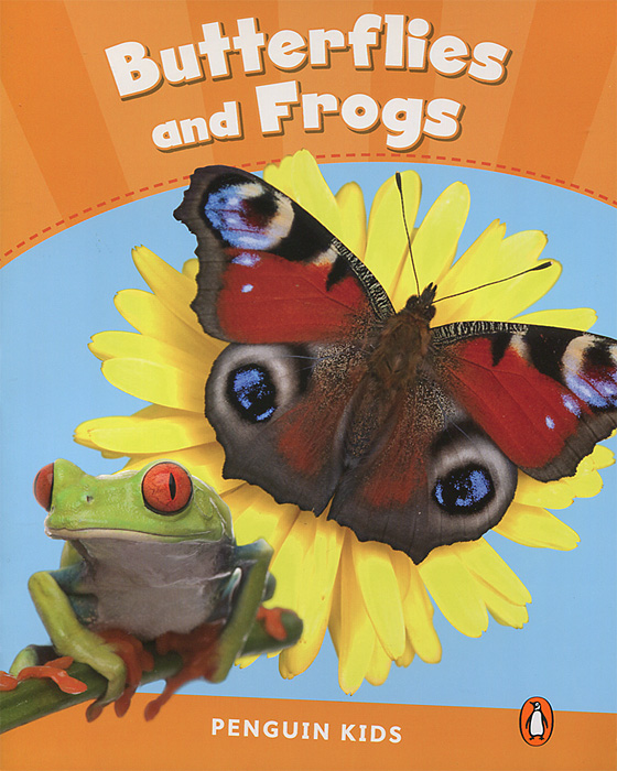 Butterflies and Frogs: Level 3 baby animals take a bath