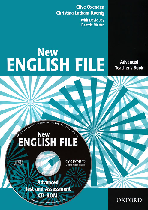 New English File: Advanced: Teacher's Book (+ CD-ROM) cambridge english complete advanced student s book without answers cd rom