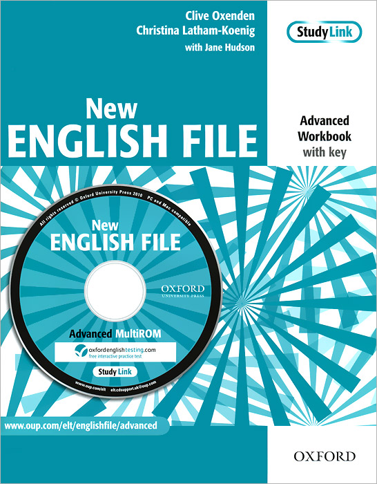 New English File: Workbook: With Key (+ CD-ROM) latham koenig christina oxenden clive seligson paul new english file pre intermediate workbook with key and multirom pack