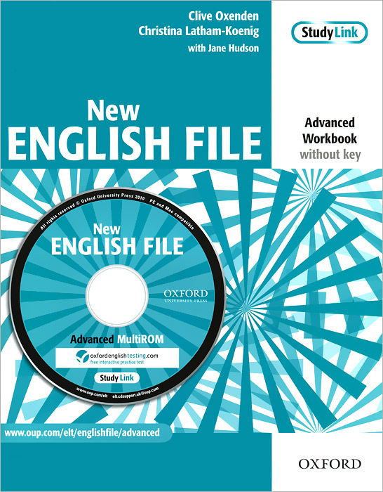 New English File: Advanced Workbook: Without Key (+ CD-ROM) complete key for schools workbook without answers cd