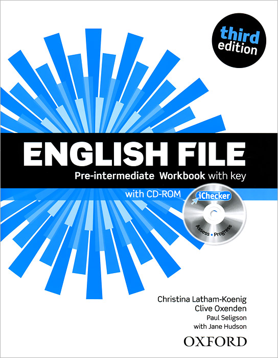 English File: Pre-intermediate: Workbook with Key (+ CD-ROM)