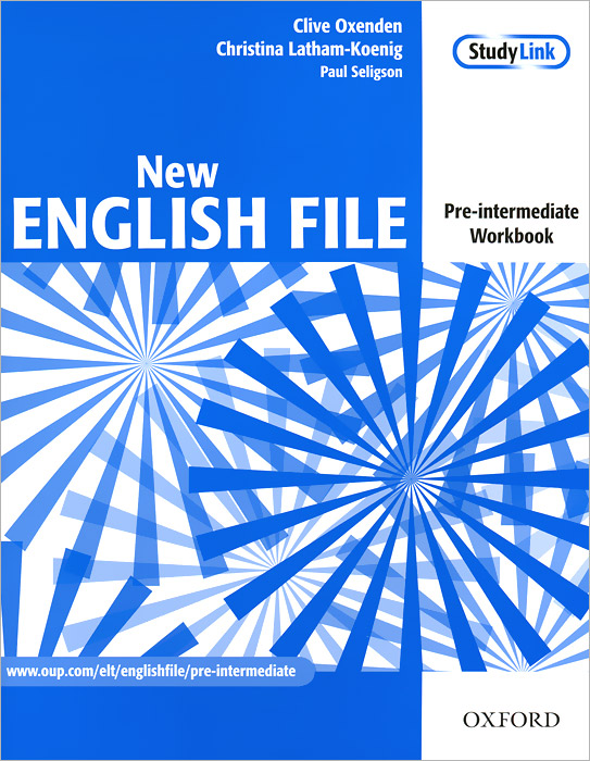 New English File: Pre-intermediate: Workbook (+ CD-ROM) cunningham s new cutting edge intermediate students book cd rom with video mini dictionary