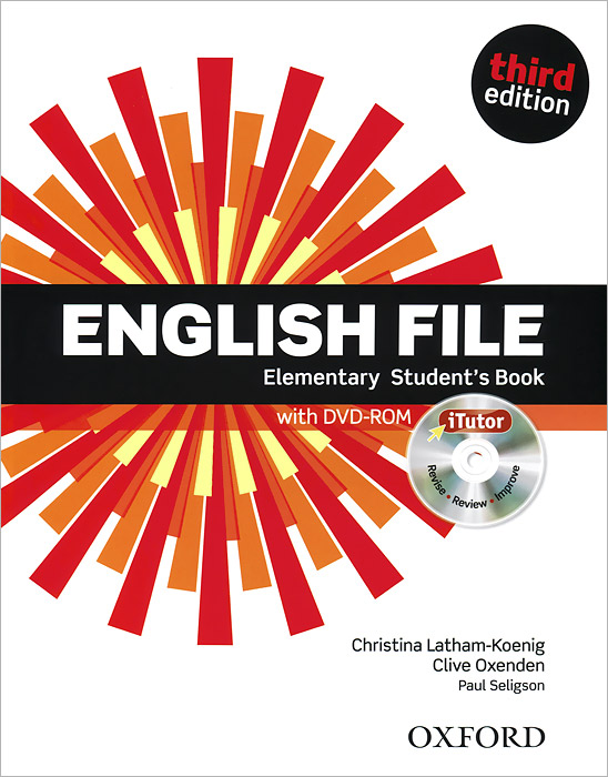 English File: Elementary: Student's Book (+ DVD-ROM) xerox 003r99736 black