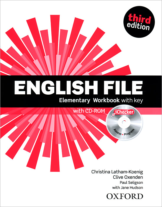 English File: Elementary: Workbook with Key (+ CD-ROM)