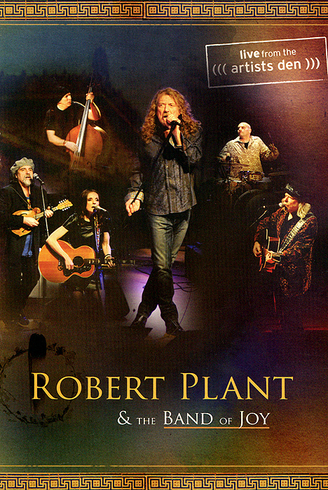 Robert Plant & The Band of Joy: Live From The Artist's Den cd led zeppelin houses of the holy
