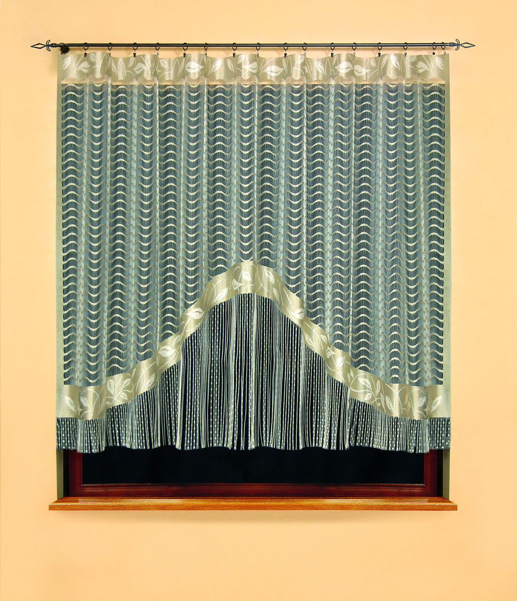 Гардина Gracjana, цвет: бежевый, высота 180 см582266Гардина Gracjana, изготовленная из полиэстера бежевого цвета, станет великолепным украшением любого окна. Нижняя часть гардины оформлена бахромой. Тонкое плетение, оригинальный дизайн и нежная цветовая гамма привлекут внимание и украсят интерьер помещения. Гардина крепится к карнизу только с помощью зажимов (в комплект не входят). Характеристики:Материал: 100% полиэстер. Цвет: бежевый. Размер упаковки:37 см х 26 см х 4 см. Артикул: 582266.В комплект входит: Гардина - 1 шт. Размер (ШхВ): 300 см х 180 см. Фирма Wisan на польском рынке существует уже более пятидесяти лет и является одной из лучших польских фабрик по производству штор и тканей. Ассортимент фирмы представлен готовыми комплектами штор для гостиной, детской, кухни, а также текстилем для кухни (скатерти, салфетки, дорожки, кухонные занавески). Модельный ряд отличает оригинальный дизайн, высокое качество. Ассортимент продукции постоянно пополняется.