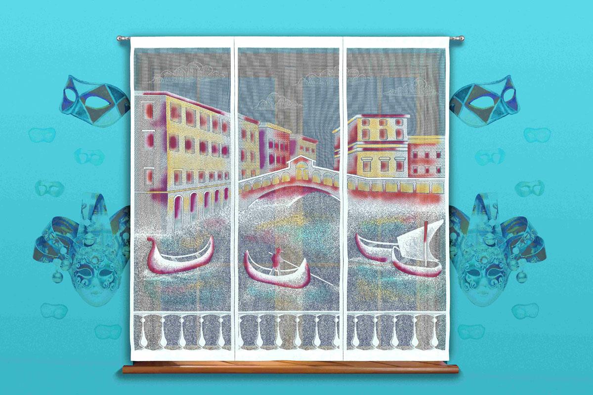 Гардина-панно Венеция, на кулиске, цвет: белый, высота 170 см718504Воздушная гардина-панно Венеция, изготовленная из полиэстера белого цвета, станет великолепным украшением любого окна. Тонкое плетение и рисунок гондолы и зданий привлечет к себе внимание и органично впишется в интерьер. Гардина оснащена кулиской для крепления на круглый карниз. Характеристики:Материал: 100% полиэстер. Цвет: белый. Высота кулиски: 7 см. Размер упаковки:26 см х 2 см х 36 см. Артикул: 718504.В комплект входит:Гардина-панно - 1 шт. Размер (ШхВ): 150 см х 170 см.Фирма Wisan на польском рынке существует уже более пятидесяти лет и является одной из лучших польских фабрик по производству штор и тканей. Ассортимент фирмы представлен готовыми комплектами штор для гостиной, детской, кухни, а также текстилем для кухни (скатерти, салфетки, дорожки, кухонные занавески). Модельный ряд отличает оригинальный дизайн, высокое качество. Ассортимент продукции постоянно пополняется.УВАЖАЕМЫЕ КЛИЕНТЫ!Обращаем ваше внимание на цвет изделия. Цветовой вариант гардины-панно, данной в интерьере, служит для визуального восприятия товара. Цветовая гамма данной гардины-панно представлена на отдельном изображении фрагментом ткани.
