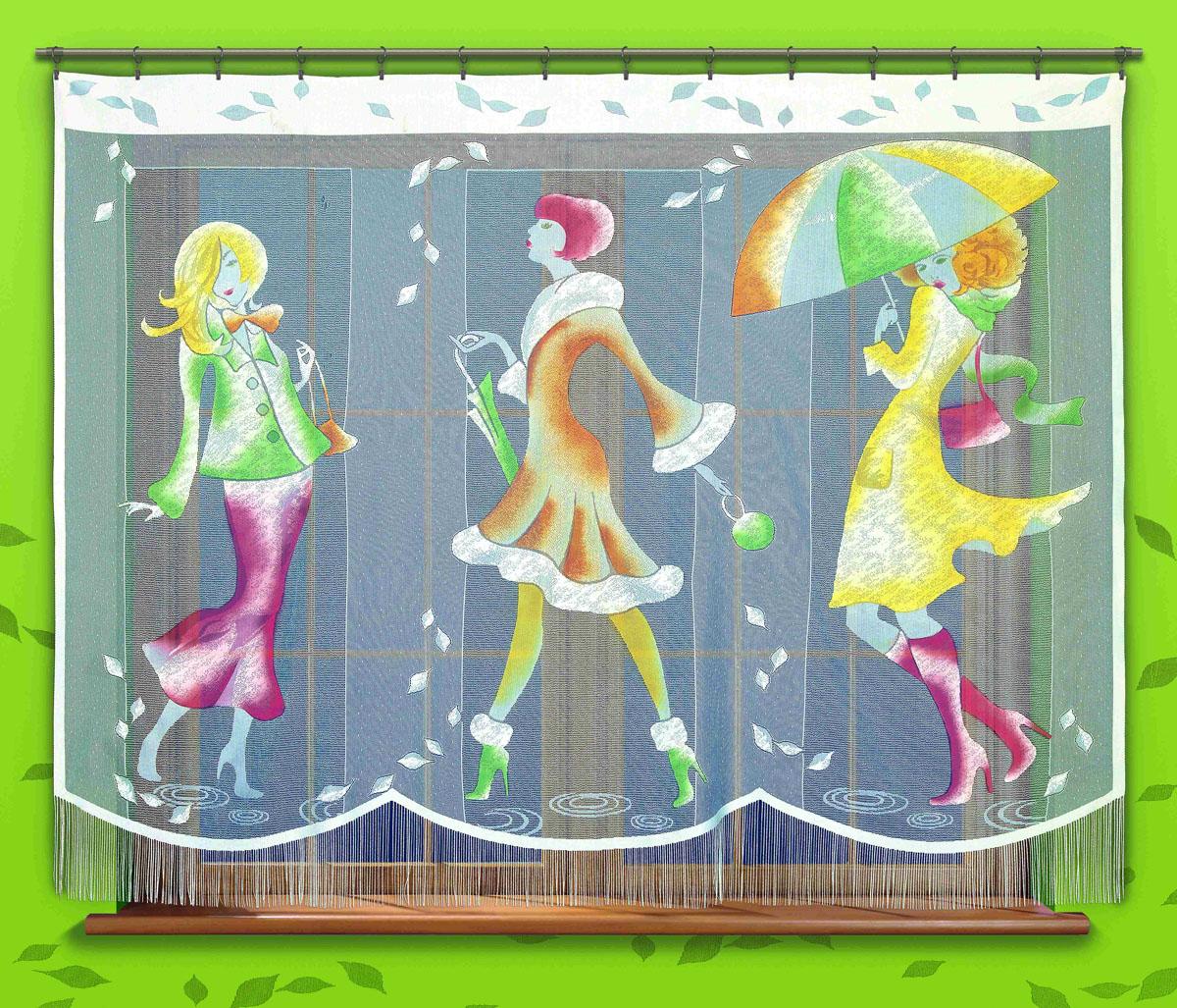 Гардина Pory Roku, цвет: белый, высота 180 см723942Оригинальная гардина Pory Roku, изготовленная из полиэстера белого цвета, станет великолепным украшением любого окна. Яркий принт в виде девушек и украшение в виде бахромы привлекут к себе внимание и органично впишутся в интерьер комнаты. Верхняя часть гардины не оснащена креплениями. Характеристики:Материал: 100% полиэстер. Размер упаковки:27 см х 34 см х 4 см. Артикул: 723942.В комплект входит:Гардина - 1 шт. Размер (Ш х В): 250 см х 180 см. Фирма Wisan на польском рынке существует уже более пятидесяти лет и является одной из лучших польских фабрик по производству штор и тканей. Ассортимент фирмы представлен готовыми комплектами штор для гостиной, детской, кухни, а также текстилем для кухни (скатерти, салфетки, дорожки, кухонные занавески). Модельный ряд отличает оригинальный дизайн, высокое качество. Ассортимент продукции постоянно пополняется.