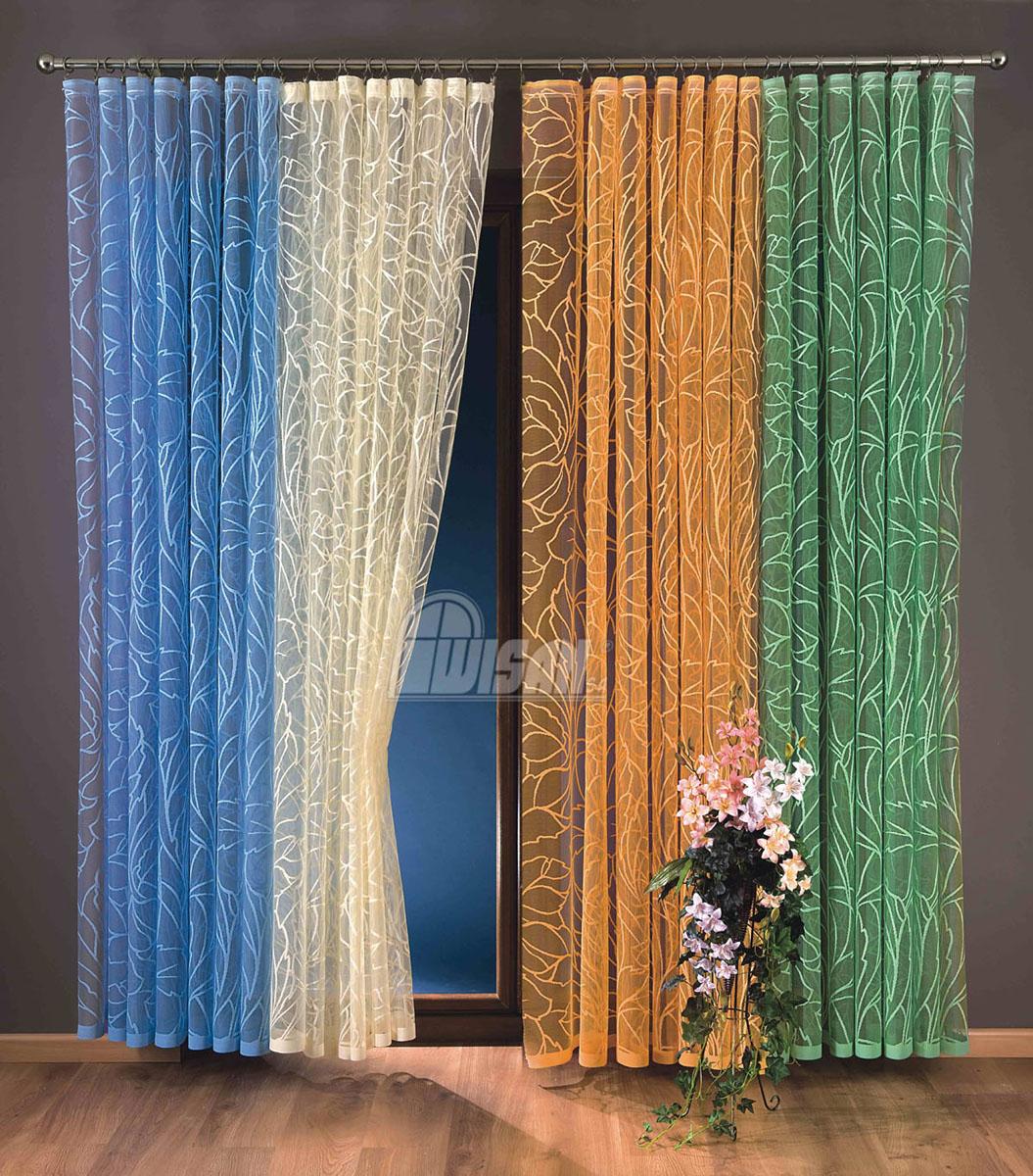 Гардина-тюль Zara, на ленте, цвет: зеленый, высота 250 см737208Воздушная гардина-тюль Zara, изготовленная из полиэстера зеленого цвета, станет великолепным украшением любого окна. Тонкое плетение, оригинальный дизайн и приятная цветовая гамма привлекут к себе внимание и органично впишутся в интерьер комнаты. В гардину-тюль вшита шторная лента. Характеристики:Материал: 100% полиэстер. Цвет: зеленый. Размер упаковки:27 см х 36 см х 2 см. Артикул: 737208.В комплект входит:Гардина-тюль - 1 шт. Размер (Ш х В): 150 см х 250 см. Фирма Wisan на польском рынке существует уже более пятидесяти лет и является одной из лучших польских фабрик по производству штор и тканей. Ассортимент фирмы представлен готовыми комплектами штор для гостиной, детской, кухни, а также текстилем для кухни (скатерти, салфетки, дорожки, кухонные занавески). Модельный ряд отличает оригинальный дизайн, высокое качество. Ассортимент продукции постоянно пополняется.УВАЖАЕМЫЕ КЛИЕНТЫ!Обращаем ваше внимание на цвет изделия. Цветовой вариант гардины-тюли, данной в интерьере, служит для визуального восприятия товара. Цветовая гамма данной гардины-тюли представлена на отдельном изображении фрагментом ткани.