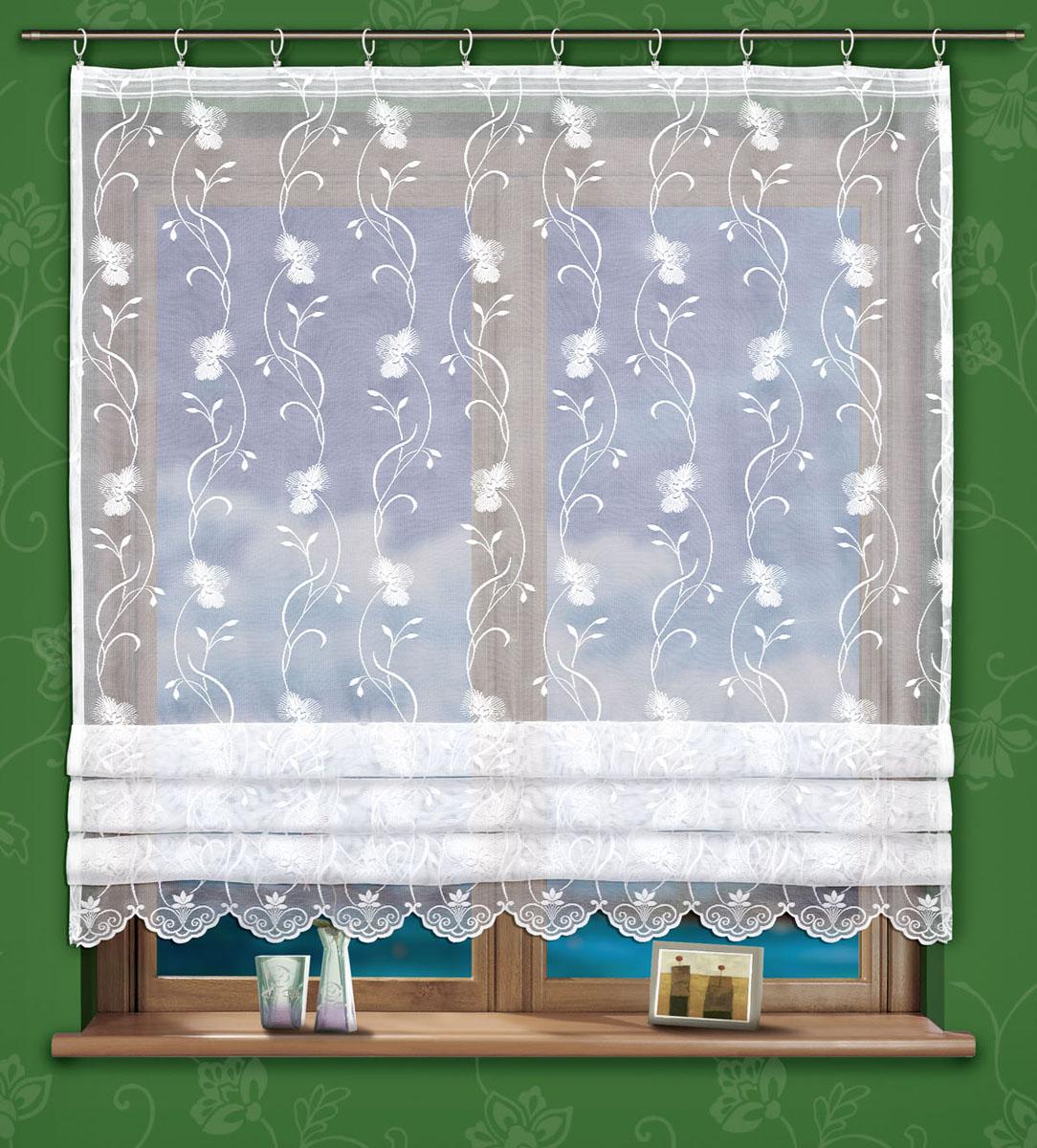 Гардина Salma, на ленте, цвет: белый, высота 150 см737840Воздушная гардина Salma, изготовленная из полиэстера белого цвета, станет украшением любого окна. Тонкое плетение и роскошный цветочный узор привлекут к себе внимание и органично впишутся в интерьер. В гардину вшита шторная лента. Характеристики:Материал: 100% полиэстер. Размер упаковки:27 см х 35 см х 3 см. Артикул: 737840.В комплект входит:Гардина - 1 шт. Размер (Ш х В): 160 см х 150 см. Фирма Wisan на польском рынке существует уже более пятидесяти лет и является одной из лучших польских фабрик по производству штор и тканей. Ассортимент фирмы представлен готовыми комплектами штор для гостиной, детской, кухни, а также текстилем для кухни (скатерти, салфетки, дорожки, кухонные занавески). Модельный ряд отличает оригинальный дизайн, высокое качество. Ассортимент продукции постоянно пополняется.