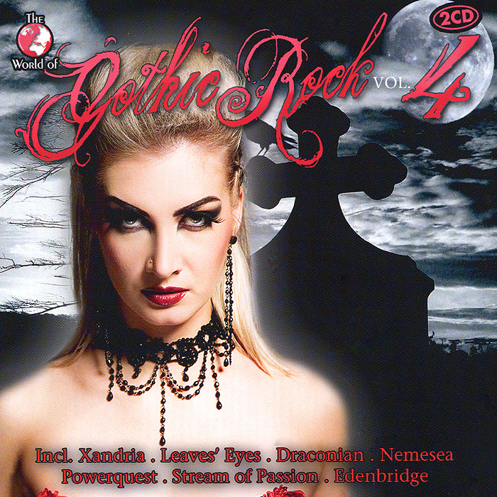 Gothic Rock. Vol. 4 (2 CD) gothic compilation 64 2 cd
