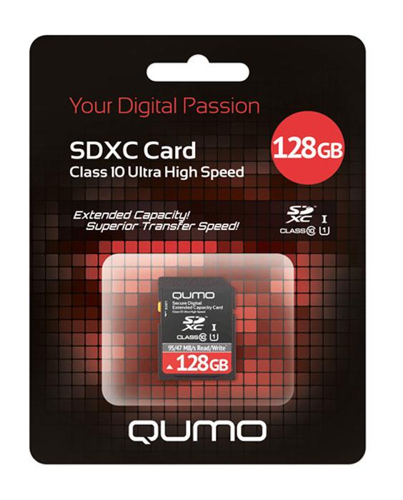 QUMO SDXC Class 10 128GB UHS-1