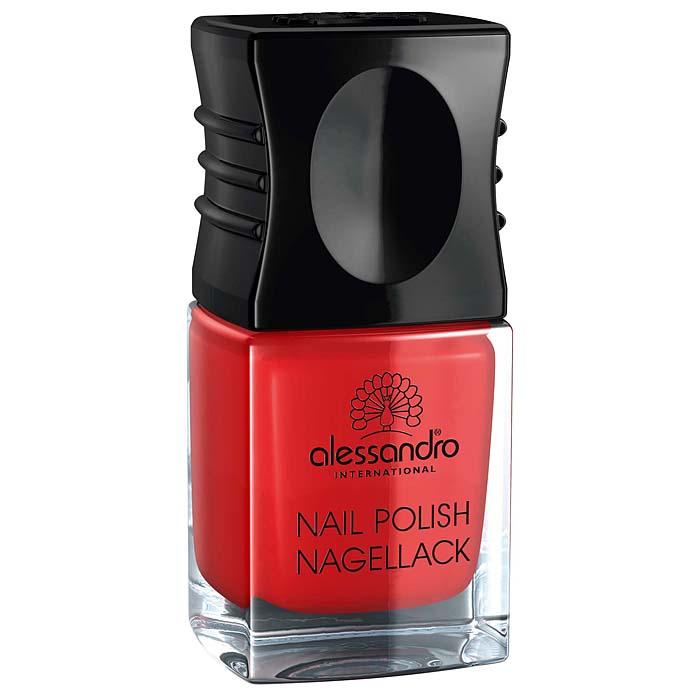 Alessandro Лак для ногтей  Nagellack. Цветущий мак , 10 мл - Декоративная косметика
