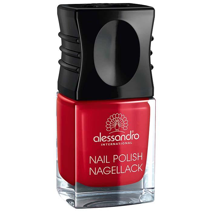 Alessandro Лак для ногтей  Nagellack. Классический красный , 10 мл - Декоративная косметика