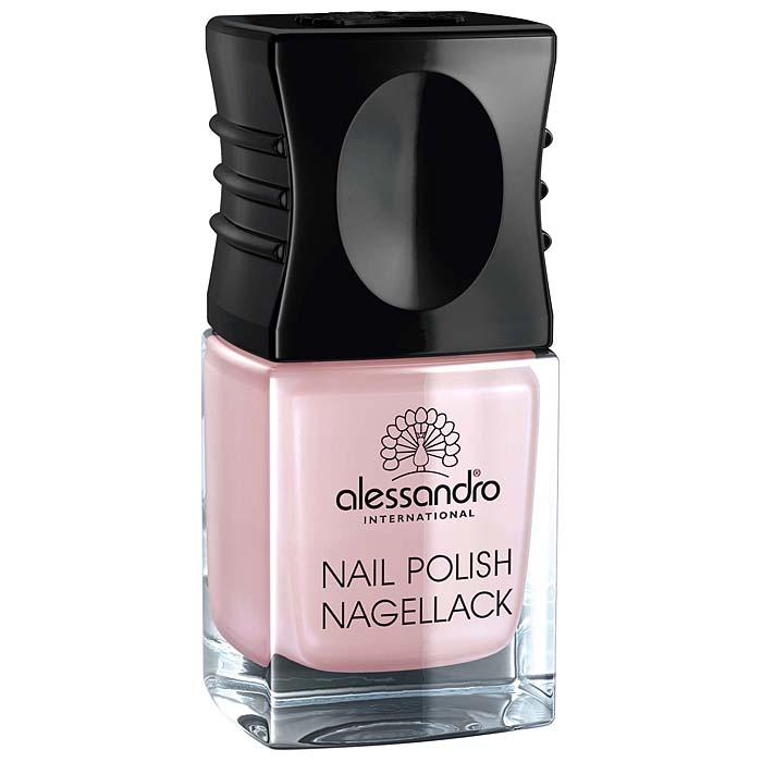 Alessandro Лак для ногтей  Nagellack. Розовый сатин , 10 мл - Декоративная косметика