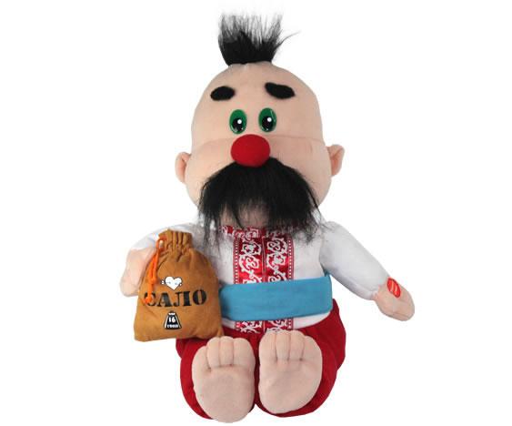 Анимированная игрушка Дядька Охрим украинский национальный костюм для девочки киев